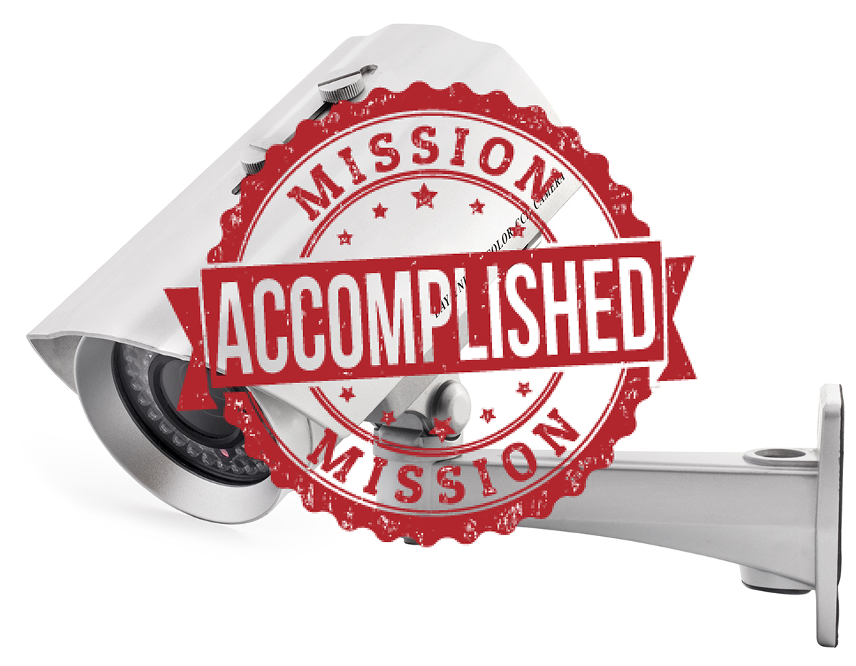 Mission Accomplished graphic